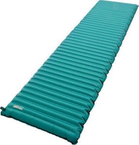 Liggunderlaget, en viktig del för att inte frysa när man sover på marken.