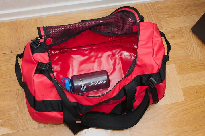 Insidan på The North Face Base Camp Duffel